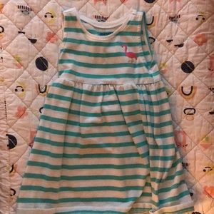 Old Navy Stripe Tank Dress